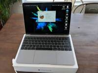 """MacBook 12"""" Space Grey fully boxed with StormFront warranty til March 2019"""