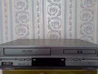 Matsui VHS & DVD combination player complete with VHS Video Films
