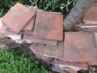 Used terracotta tiles