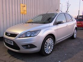 Ford Focus 2.0 TDCi Titanium 5dr, 7 FORD STAMPS + INVOICES