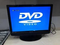 """Technika LCD/DVD, HD Ready TV 22"""" with Built in Freeview"""