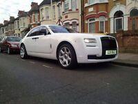 Rolls Royce Ghost £295 | London | Essex | Kent | Luton | Wedding Car | Prom | Birthdays | Call Now