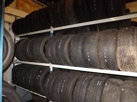 part worn tyres 205 215 225 235 245 17 fitted and balanced from £25 01179533318 new also available
