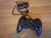 D-V+ USB Wired Gaming Controller Gamepad For PC(Windows XP/7/8/10) & PS3 & Android