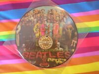 Beatles Sgt. Pepper picture disc