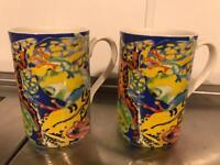 2 Dunoon Frog mugs - ideal Christmas gift