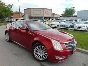 2011 Cadillac CTS COUPE-PERFORMANCE-NAVIGATION-AWD
