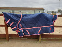 Horze stable rug with neck 6'6