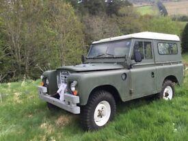 Landrover 1984 swb Series 3 diesel