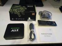 Smart tv box Android kodi fully loaded
