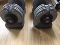 Adjustable dumbbells for sale