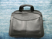 Brand new, unused Dell Leather Computer laptop Bag, great Christmas present