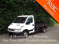 2006 Iveco Daily 34C12 Tipper LWB with a Full Year PSV