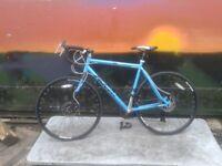 Falcon San Remo 700c Steel Road Bike 56cm Dual Disc Brakes - RRP £275