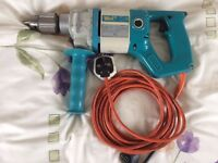 "WOLF MAINS DRILL, TYPE 3676, ""BRITISH MADE"", CAPACITY 2 mm - 13 mm, 500 WATTS, 590 RPM"