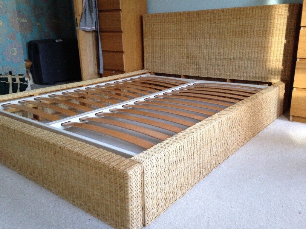 King Size Habitat Rattan Bed In Norwich Norfolk Gumtree