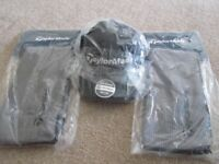 Taylormade hat and bag towels