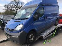 2004 Vauxhall Vivaro + Read Description