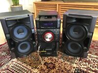 Sony HCD-EC79i Stereo System with 2 x Sony SS-EC79 Speakers