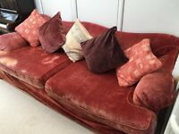Large Comfy 4 Seater Settee Couch
