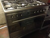 Stainless Smeg Range Gas cooker. Excellent free delivery