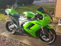 Kawasaki ZX6R 2007 . FSH excellent condition
