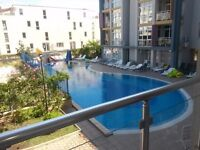 Two bedroom apartment in Sunny Beach Bulgaria.