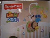 Fisher Price Crib Mobile.....like NEW!! VERY CLEAN