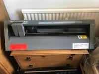 Roland PNC 5000 colourcamm colorcamm thermal printer cutter sign vinyl