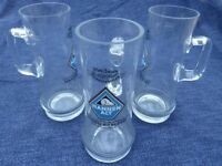 3 Beer Glasses / Tankards - 250th anniversary Hannen Brewery