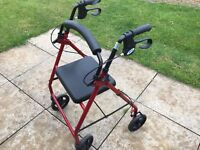 Mobility walker good condition.