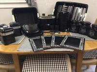 Black kitchen goods