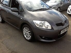 Free Delivery, 2008 TOYOTA AURIS T3 2.0L Diesel 77K Year Mot Full Service Warranty, Free Delivery