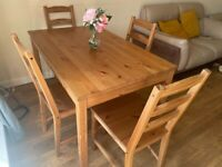 IKEA dining table well maintained