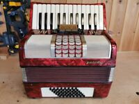 Galotta, 48 Bass, 2 Voice (MM), 26 Treble Keys, Piano Accordion. Lessons Available.