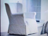 DESIGN STUDIO - Roche Bobois Cream Armchair In Aurore Fabric - Removeable Covers