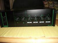 BOUYER AM-1105 PA AMPLIFIER 100 WATTS AMP.