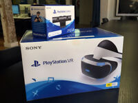 PLAYSTATION PSVR, LIKE NEW BOXED, WITH CAMERA AND DRIVECLUB BOXED GAME