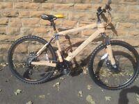 New Boss Vortex Hard Tail Disk Brake Mountain Bike RRP £224