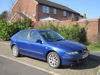 Seat Leon 2000, 1.9TDi 90HP, service history, NEW MOT 08/2017, 210k miles, owner for last 3 years