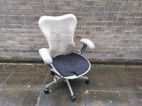 Herman Miller Mirra Ergonomic Fully Adjustable Task Chair in White