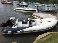 Wetline 480 2012 with 40hp Mariner 4-Stroke for Sale