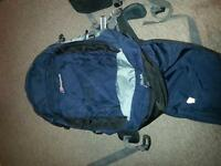 Berghaus (55 +15) 70 litre travelling backpack-used, good condition