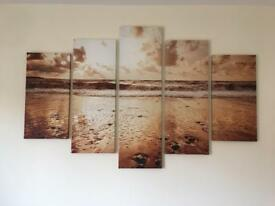 5 Piece Canvas