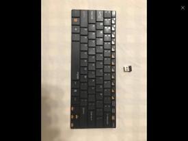 Portable wireless keyboard