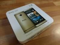 HTC M7 GOLD EDITON BOXED FACTORY UNLOCKED