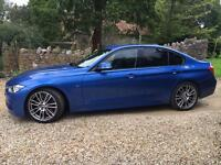 BMW 330D M SPORT AUTO M PERFORMANCE 2014-64 / ESTORIL BLUE / BLACK LEATHER / EXTRAS
