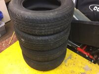 4x4 tyres for Mitsubishi L200 £40 each