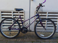 Womens Girls Raleigh Mountain Bicycle Nearly NEW tyres
