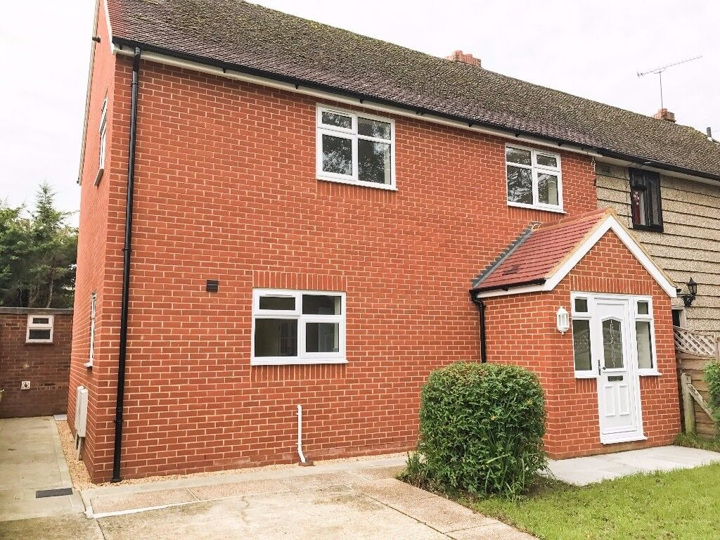modern refurbished three bedroom house with a fantastic garden and off-street parking